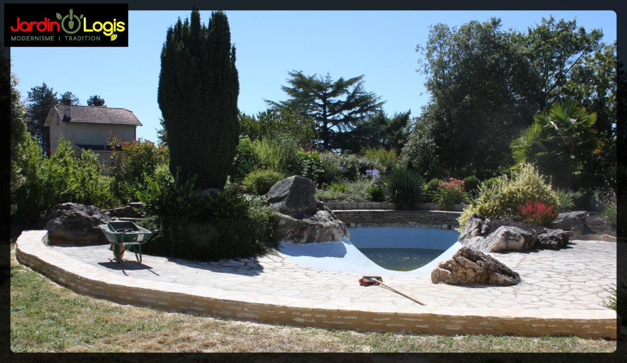 muret piscine